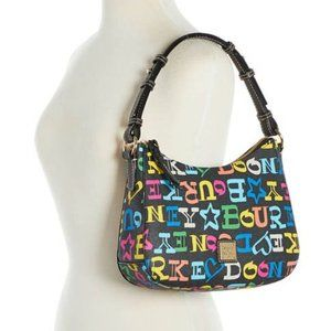 NWT Dooney & Bourke Small Black Kiley Hobo Bag NEW